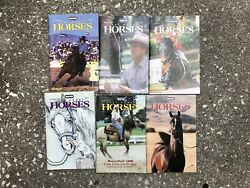 Lot 6 Breyer Just About Horses Magazines JAH 1998 Full Year Huckleberry Dun It