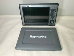 Raymarine E120w Touch Screen Mfd Display W/ Suncover Tested/warranty