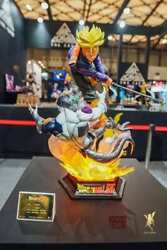In Stock Soul Wing Dragon Ball Z Trunks 1/4 Scale Resin Statue Licenze