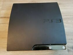 Sony Playstation 3 Slim Cech-2001a 120gb Charcoal Black Video Game Console
