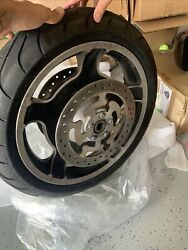 Harley Davidson 2011 Street Glide Front Wheel And Rotor