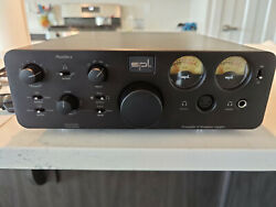 Spl Phonitor X Headphone Amplifier And Preamplifier, No Dac, Black