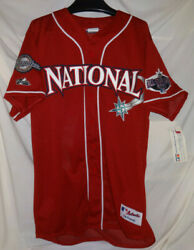 Brewers Mariners 2001 National League All Star Safeco Mlb Baseball Jersey Nwt