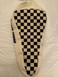 Old School Vintage Bmx Turbo Re Racing Seat Cover - Black