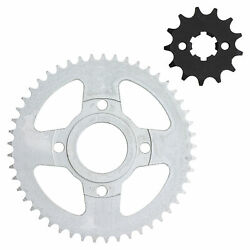 Niche 428 Pitch Front 13t Rear 49t Drive Sprocket Kit For Yamaha Sr125