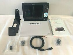 Simrad Nss12 Touchscreen Display W/ Power Cable - Like New Tested/warranty