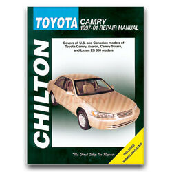 Chilton Repair Manual For 1997-2001 Toyota Camry - Shop Service Garage Book Zw