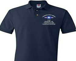Tennessee Air National Guard Usaf Embroidered Polo Shirt/sweat/jacket.