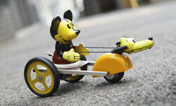 Young Epoch Mickey And Pluto Retro Tinplate Wind-up Figure Toy Collection Japan