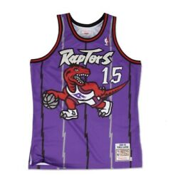 Authentic Mitchell And Ness Nba Toronto Raptors Vince Carter Basketball Jersey