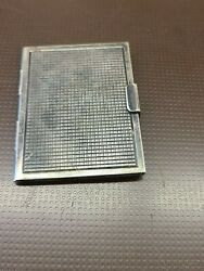 Antique Sterling Silver Stamp / Picture Holder 2.5 X 2 190040's Free Ship
