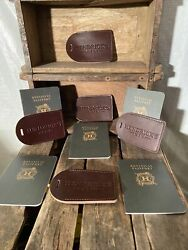 Hendricks Gin Luggage Tags And Passport Advertising Package 5 Of Each Gifting Time