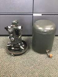 Hilger And Watts No. 2 Microptic Theodolite Made In England Ta9070-1 S/n 259775