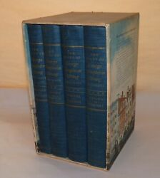 Diary Of George T. Strong 4 Volume Set New York History First Printing 1952.