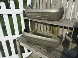 1950and039s-1960and039s Ford Crestmark Front Seat Bottom Metal Trim