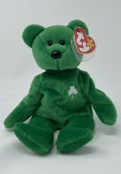 Ty Beanie Babies Erin With Errors Mint Rare 1997