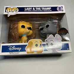 Funko Pop Lady And The Tramp Disney 2 Pack