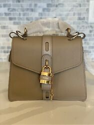 Nwt Aby Medium Day Shoulder Bag Motty Grey Rare Sold Out Msrp 2390