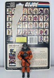 Vintage Gi Joe Barbeque Action Figure And Card 1985 - Great Buy
