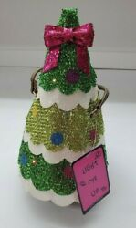 Betsey Johnson Kitsch Tree Trimming Party Crossbody Christmas Lightup Purse Gift