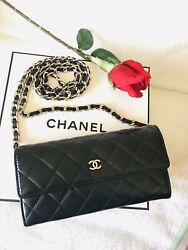 Certified Auth. Chanel Wallet with chain $799.00