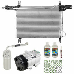 For Ford F-150 And F-250 1997 A/c Kit W/ Ac Compressor Condenser And Drier