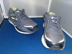 Brooks Womens Dyad 7 Gray Athletic Sneakers Size 9 D Wideread Description