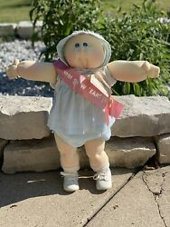1978 Original Cabbage Patch Kids The Little People Soft Sculpture New Ears Girl