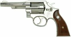 Tanaka Works S And W M10 Military And Police 4inch Nickel Finish Ver.3 Gas Revolver