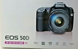 Canon Eos 50d Ef 28-135 Is Usm Digital Camera And Accessories 4347