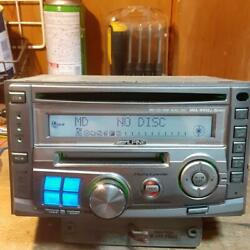 Used Alpine Mda-w900j Car Stereo Audio 2din Cd Md Player Head Unit From Japan