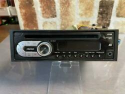 Used Addzest Clarion Cz109 Car Audio Stereo Receiver Front Aux As-is From Japan