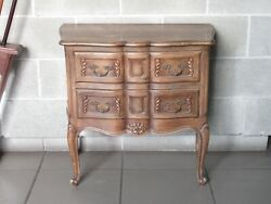 Furniture Barocchetto Chest Of Drawers Wooden Carved 2 Drawers Period Xx Century