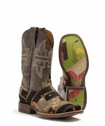 Tin Haul Women's Furrlicious Farm And Ranch Sole Boot- Style 14-021-0007-1446