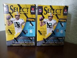 New 2020-2021 Nfl Select Football Trading Card Blaster Box Confirmed
