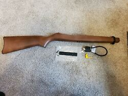 Ruger 10 22 Oem Wood Stock With Scope Rail