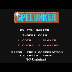 Used Spelunker Pcb Pc Board Irem 1985 Underground Axploration Action Arcade Game
