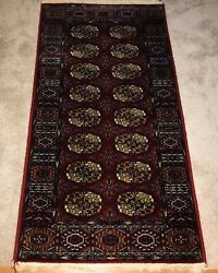 Vintage Halmond Teppiche Tabris Super Germany 2and039 4 X4and039 7 Wool Rug