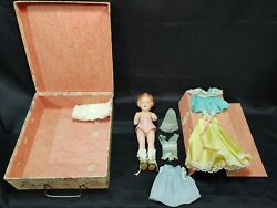 Vintage Ideal Composition Doll Beautiful Coquette 9 Rare 1939 Outfits Shoes Box