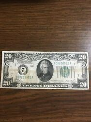Federal Reserve Note Series 1928 Tate Mellon Bank 7 20 Gold Clause Circulated