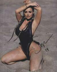 Sophie Dee Signed Model 8x10 Photo -proof- -certificate- A0059