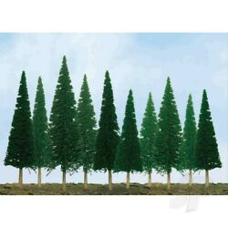 Jtt 92002 Scenic-pine, 2 To 4, N-scale, 36 Pack Trees For Scenery