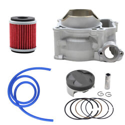 For Yamaha Wr250f Yz250f 2001-2013 Cylinder Piston Rings Oil Filter Kit Std 77mm