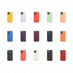 Silicone Case For Iphone 12 | 12 Pro With Magsafe - Just Snap On