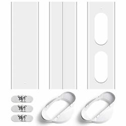 Portable Air Conditioner Two Flat-mouth Sliding Window Kit With 2 Flat-mouth