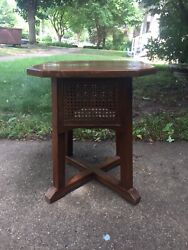 Antique Mission Oak Stickley Brothers Plant Fern Stand Table Taboret 5906 Bros