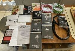 Beachbody P90x Extreme Home Fitness Complete Package Resistance Bands Dvdandrsquos Set