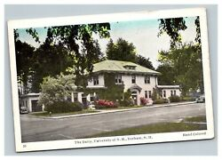 Vintage 1940's Postcard The Dairy University Of New Hampshire Durham Nh