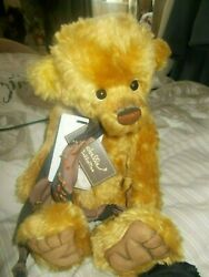 Mitchell Charlie Bear  Ltd Two144/ 400 Pieces Tags On Made Of Mohair 2012