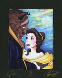 Tale As Old As Time Chiarograph By Paige Oand039hara Inspired By Beauty And The B